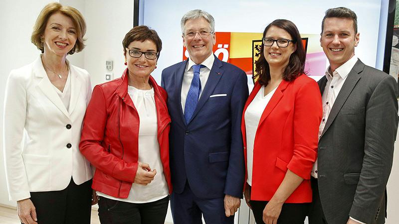 SPÖ Landesregierung Team