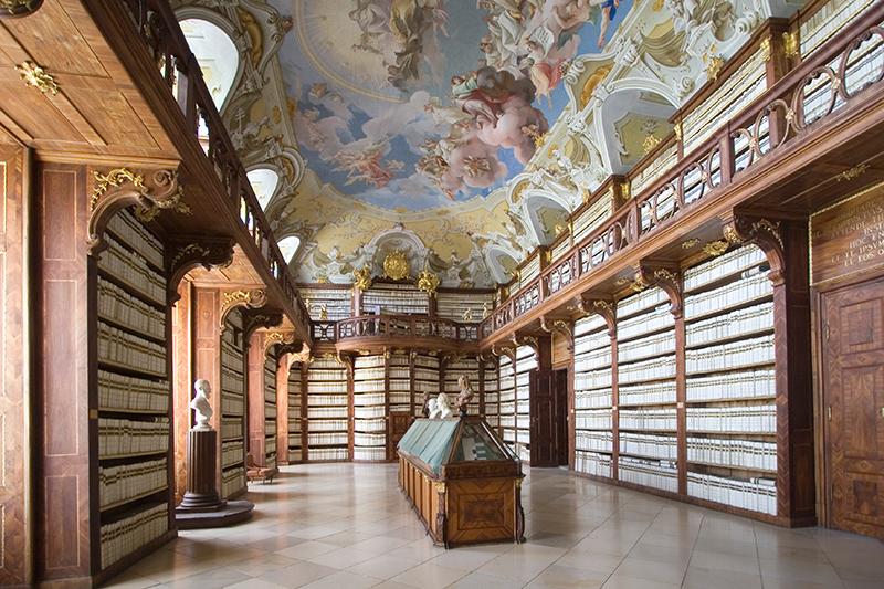Stift Seitenstetten Bibliothek