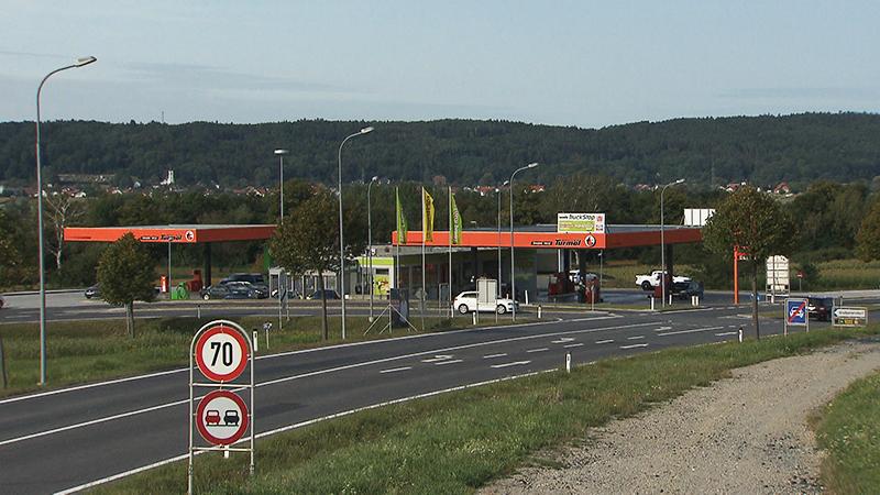 Gefährliche Kreuzung bei Großpetersdorf