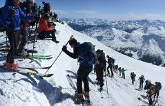 Skitouren Tourengehen Skitour Tourengeher Skibergsteigen Hocharn Massentourismus Kolm Saigurn