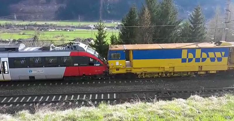 Zugunfall Kolbnitz Personenzug Güterzug