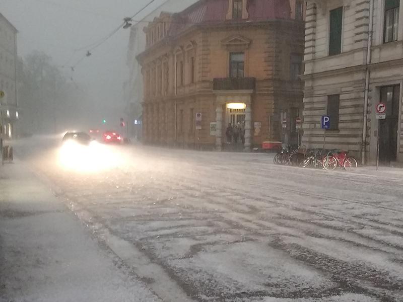Unwetter in Graz