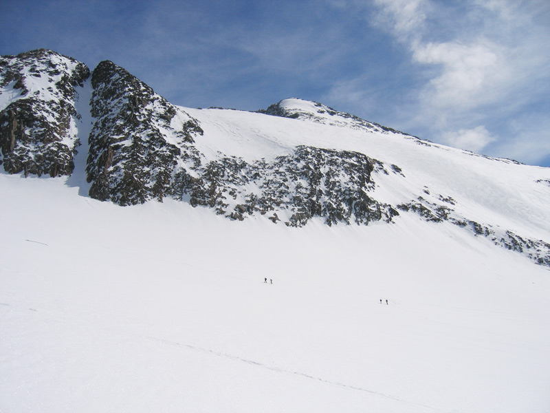 Skitour auf das Zuckerhütl