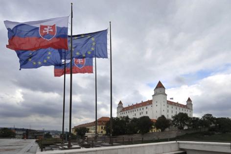 Burg in Bratislava, Slowakei