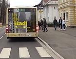 Busbuchten Testfahrt Villacher Straße Klagenfurt