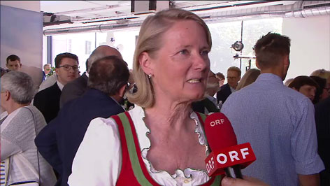 Doraja Eberle ÖVP Wahlzentrale