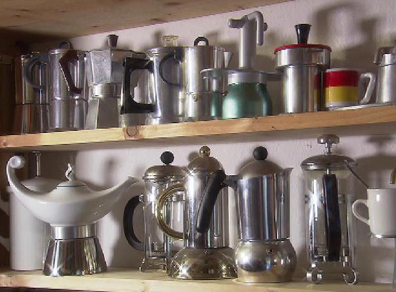 Kaffeemaschinensammlung
