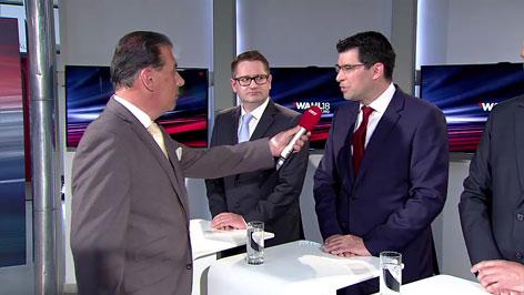 Gerd Schneider mit Mathes, SPÖ