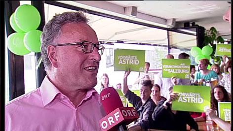 Grüne Wahlzentrale Heinrich Schellhorn