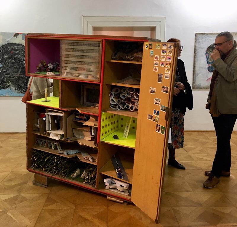 Bilder von Gerhard Reitinger und Installationen von Gabriele Gruber-Gisler