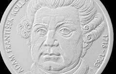 Münze zum 300. Geburtstag von A.F.Kollár