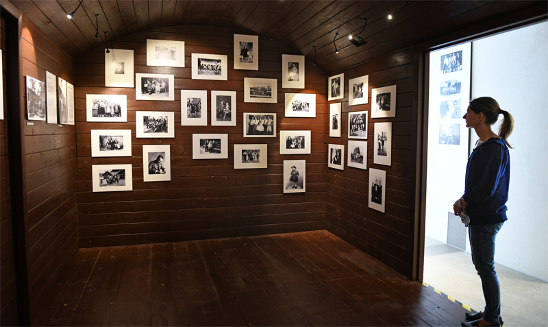 Fotos im Waggon