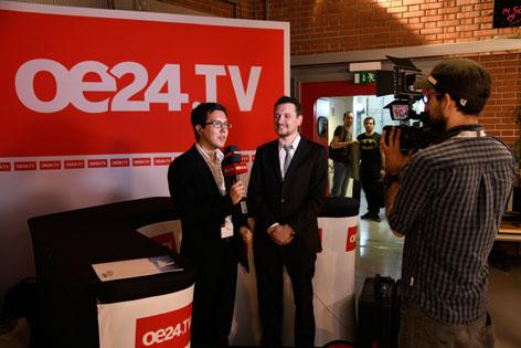 OE24 TV Auftritt