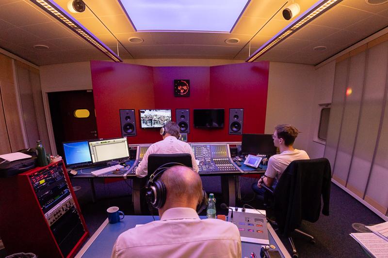 Aufweckbläser Finalisten der zweiten Staffel CD Produktion im Landesstudio