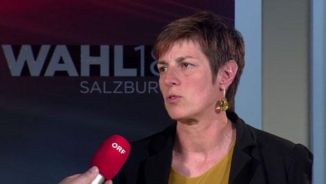 Astrid Rössler nach der Wahl