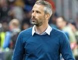 Marco Rose bei Fußballspiel als Trainer von Red Bull FC Salzburg