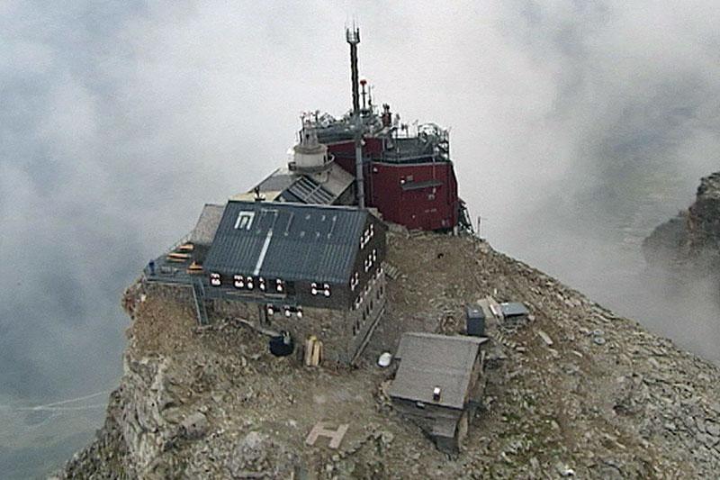 Observatorium auf dem Rauriser Sonnblick in 3.106 Metern Höhe