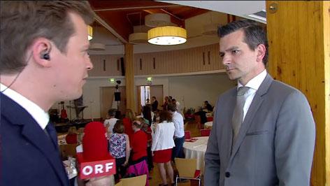 SPÖ wahlzentrale Gerald Forcher