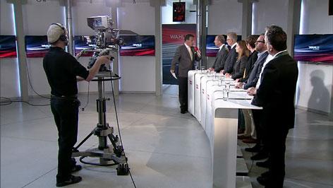 Spitzenkandidaten im ORF Landesstudio