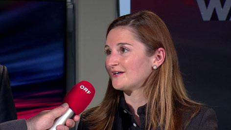Marlene Svazek nach der Wahl