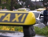 1000 Taxifahrer protestierten gegen Uber