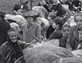 Emigracija umik Ljubelj begunci Vetrinj fotografije Marjan Kocmur
