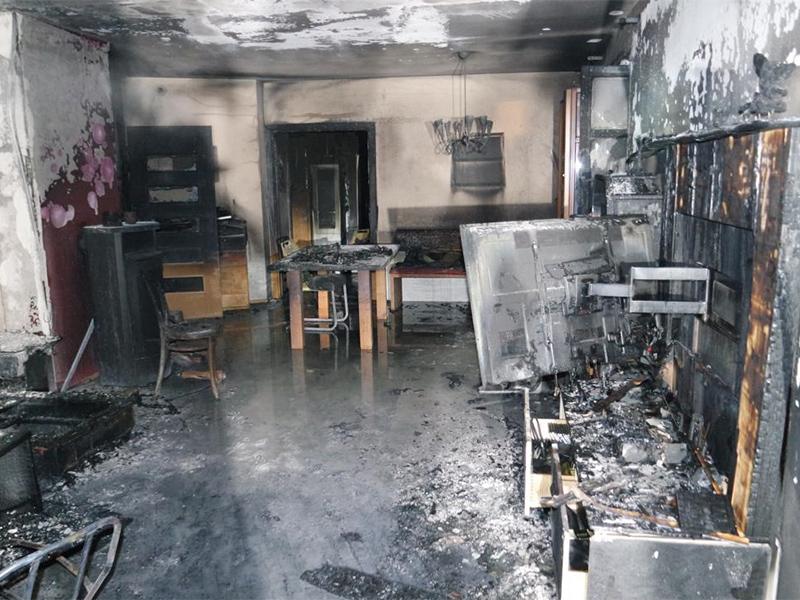 Brand in Etschendorf