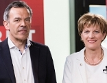 Georg Willi und Christine Oppitz Plörer