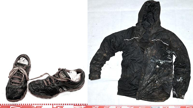 Kleidung des Toten Mord Fritzens