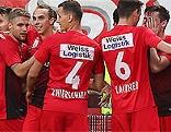 Fußball Bundesliga Admira WAC Wolfsberg April 2018