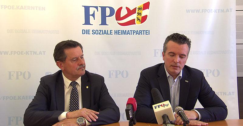 FPÖ zeigt Josef Winkler an Rede 500 Jahre Klagenfurt
