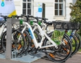 E-bike kölcsönző a bécsi Zentralfriedhof területén