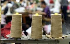 Arbeit in der Textilindustrie