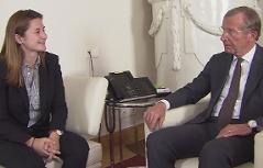 Marlene Svazek und Wilfried Haslauer
