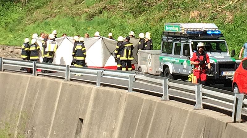 Tödlicher Motorradunfall auf der Katschbergstraße B99