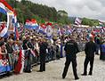 Pliberk ustaši Libuško Hrvati srečanje polje