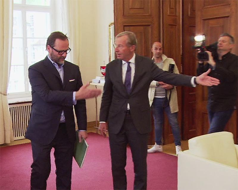 Schellhorn Sepp und Wilfried Haslauer