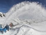 Glocknerstraße von Schnee befreit