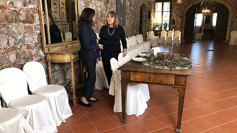 SSC Villa Romano Manzano Maria Paola Frattolin Marina Romano Contessa