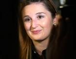 Marlene Svazek am Wahlabend