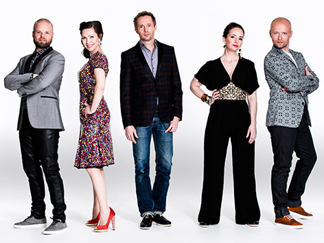 The Real Group acapella petje Švedska Voxon Katz