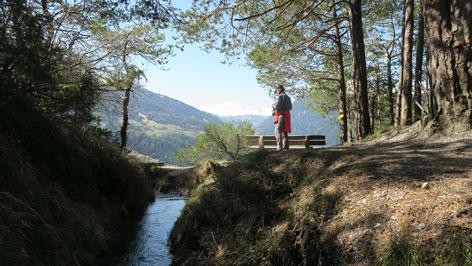 Wandertipp Stanzer Waalweg
