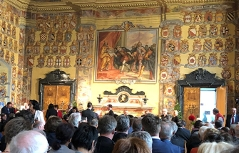 Wappensaal 500 Jahre Klagenfurt Festakt
