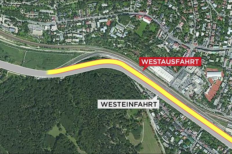 Grafik Westausfahrt