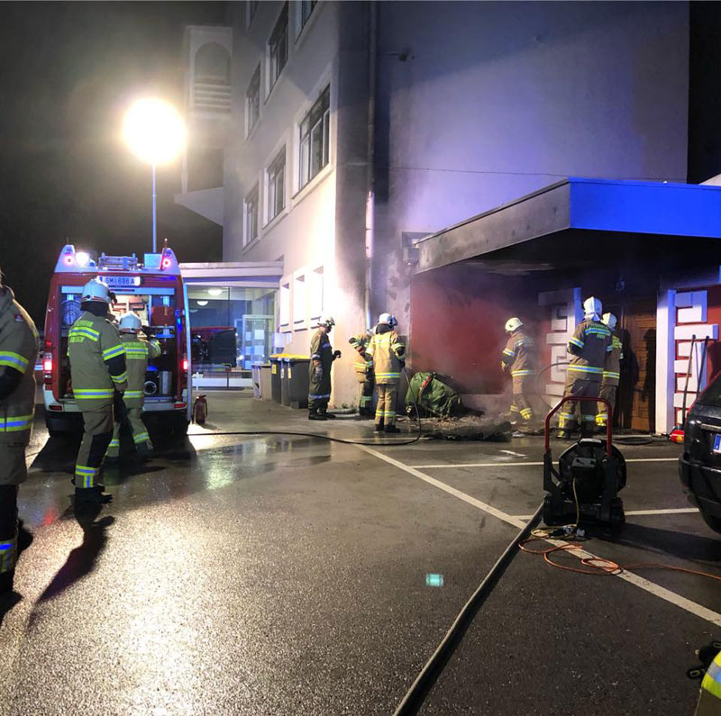 Containerbrand Ebensee
