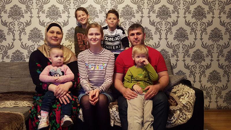 Abgeschobene Familie