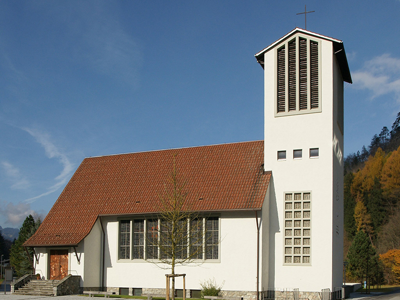 Lorüns Kirche Hl Nepomuk