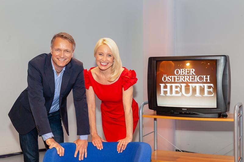Klaus Obereder und Jutta Mocuba