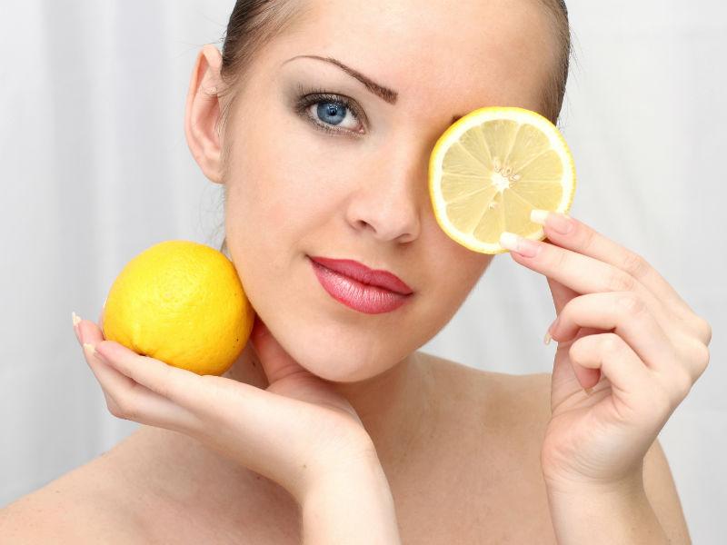 Zitrone Frau