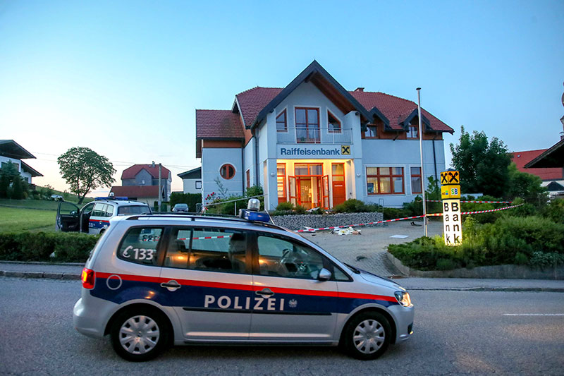 Bankomatdiebstahl in Kirchberg